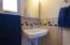 Custom tile on bathroom