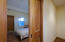 Pocket doors leading into all bedrooms and bathrooms