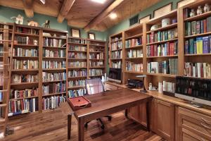 Library/Office with custom bookcases