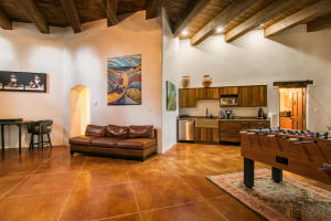 Casita living and kitchen