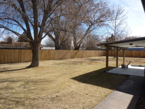 Private Fenced Backyard