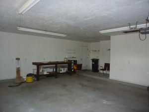 Workshop Area in Garage