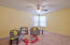 Upper loft area...perfect for kids hangout, office, entertainment area or more!