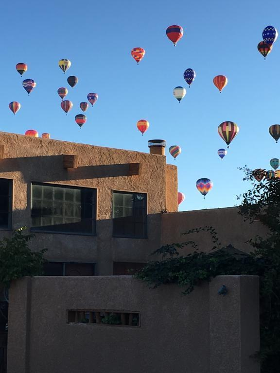 Balloons Over Home