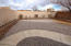 Front walled courtyard
