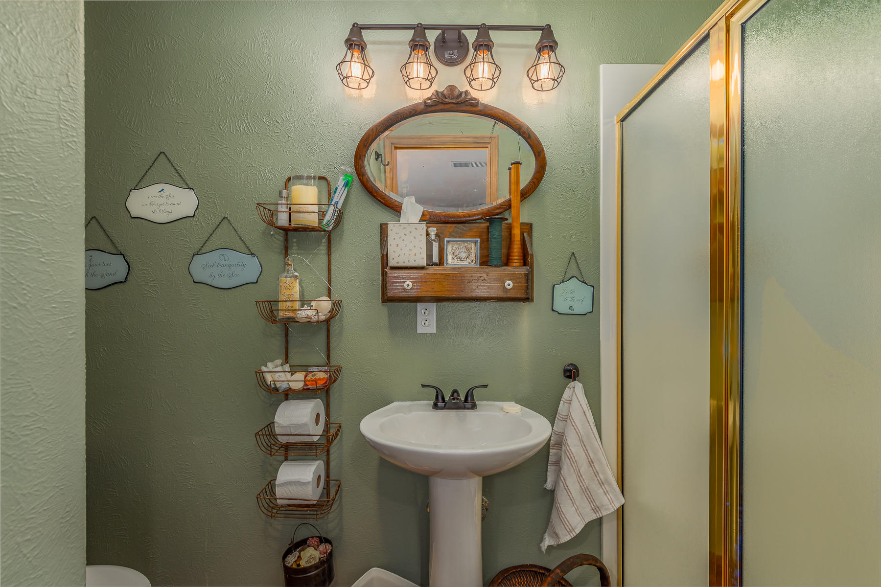 3/4 Bathroom in Guest Suite