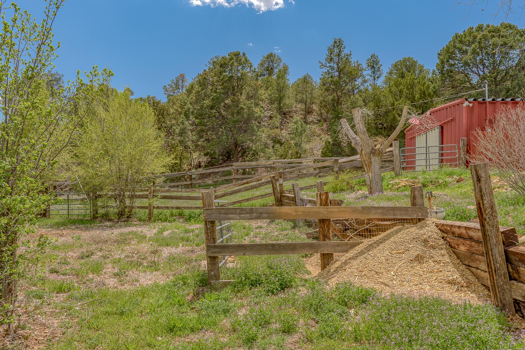 Fenced Barn