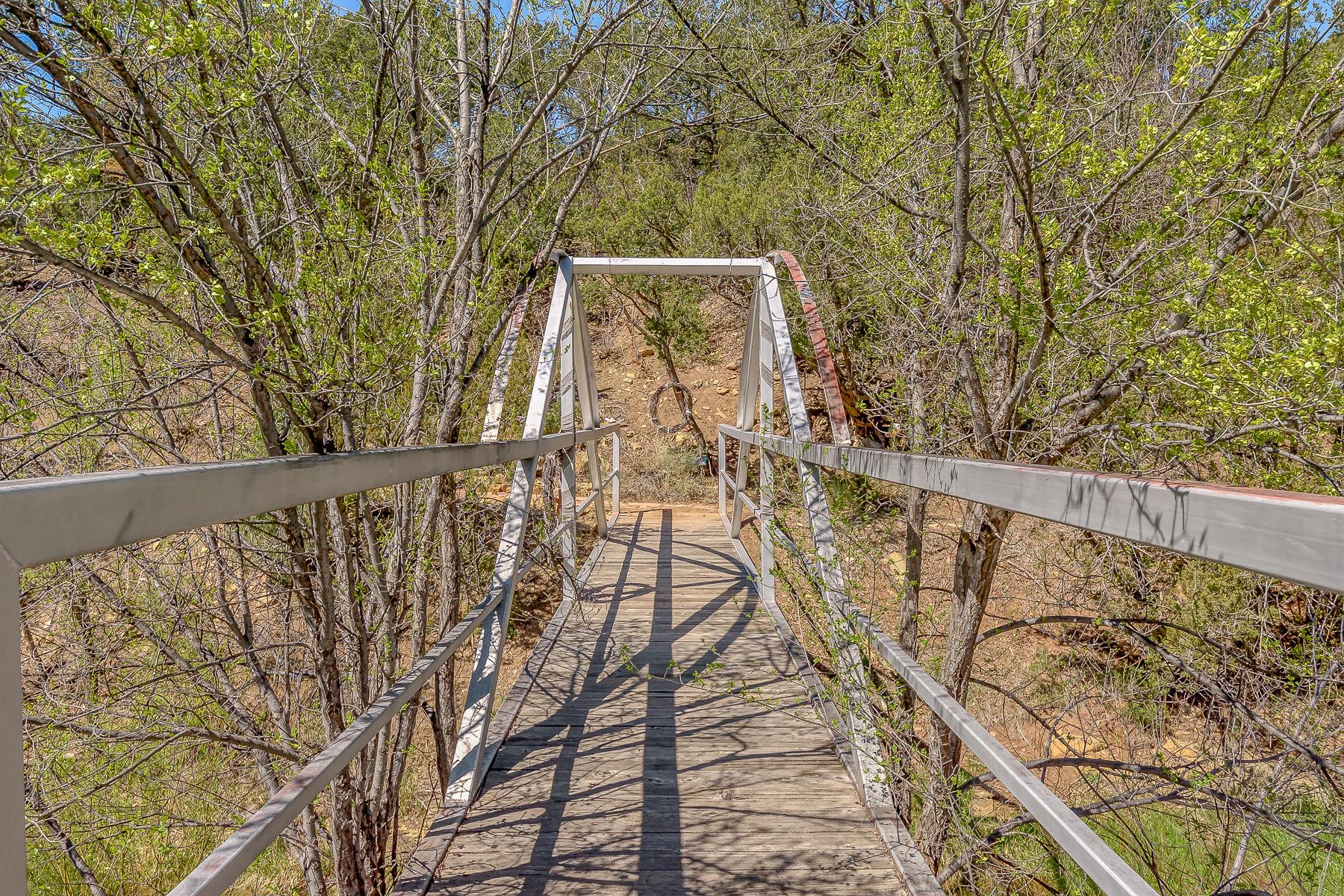 Bridge to Adjoining Lot