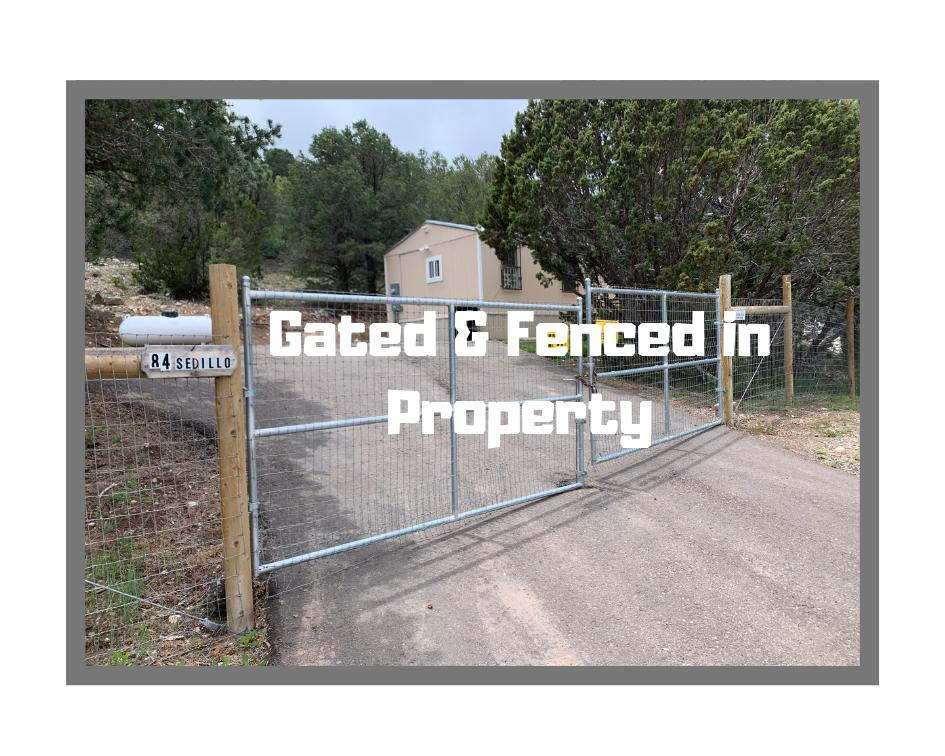 Gated & Fenced in Property
