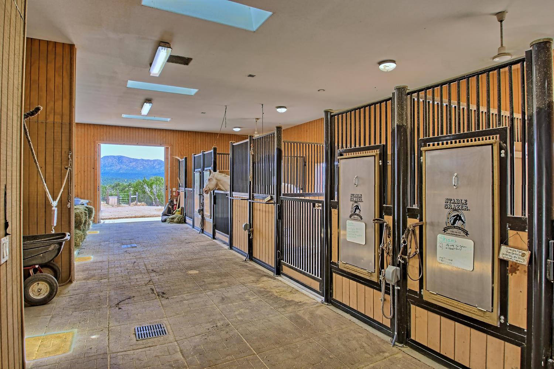 barn interior 2 5 Real Pl Sandia Park NM