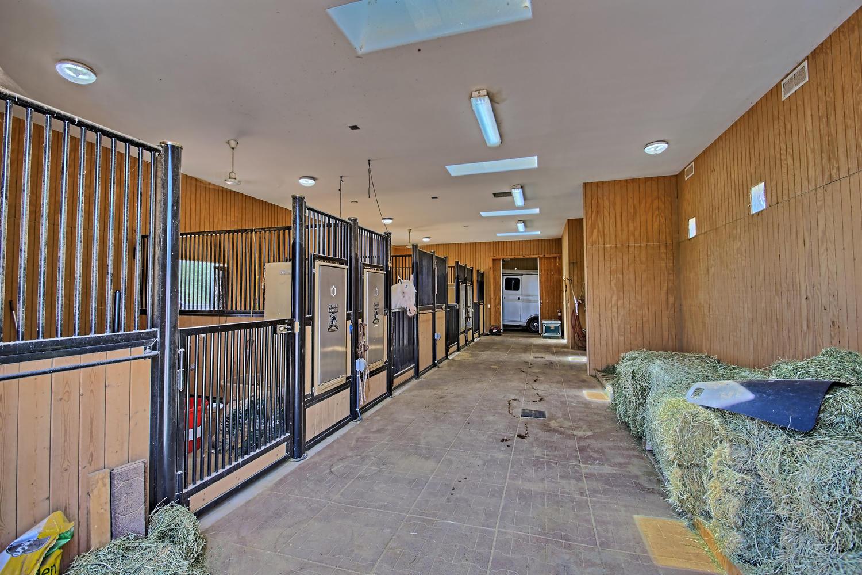 barn interior 5 Real Pl Sandia Park NM 8