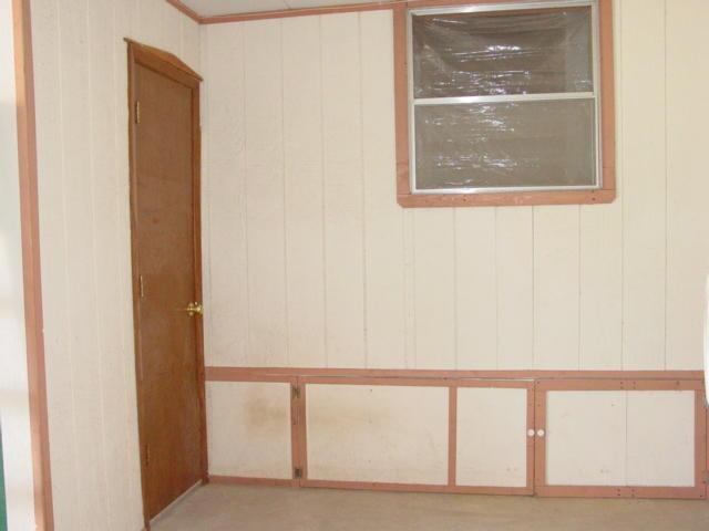 Door from the Storage Room to the Garage
