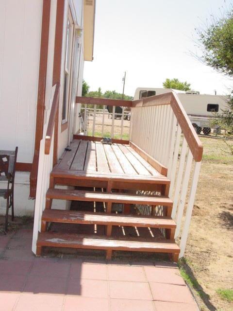 Deck to Side Door