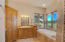 Master bathroom, jetted tub with amazing views