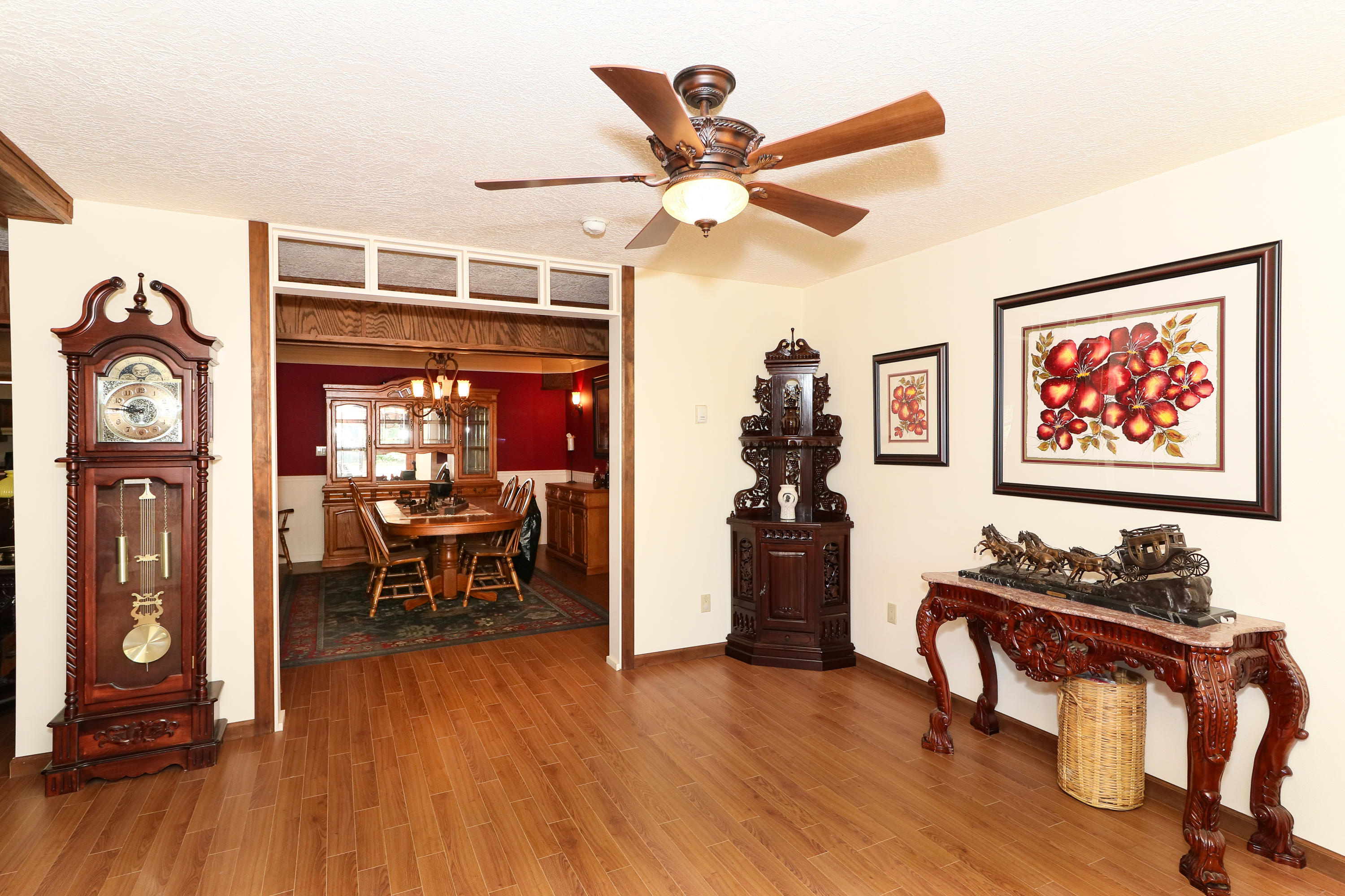 Foyer to Formal Dining Rm