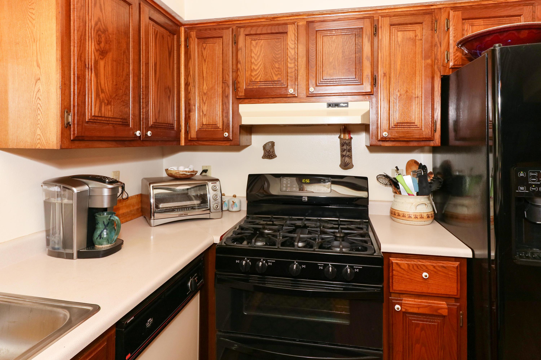 Kitchen stove - cabinets