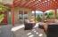 Courtyard Pergola/sitting area