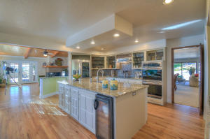 Gourmet Kitchen with Wine Fridge