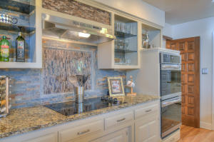 Custom Tile & Glass Shelves