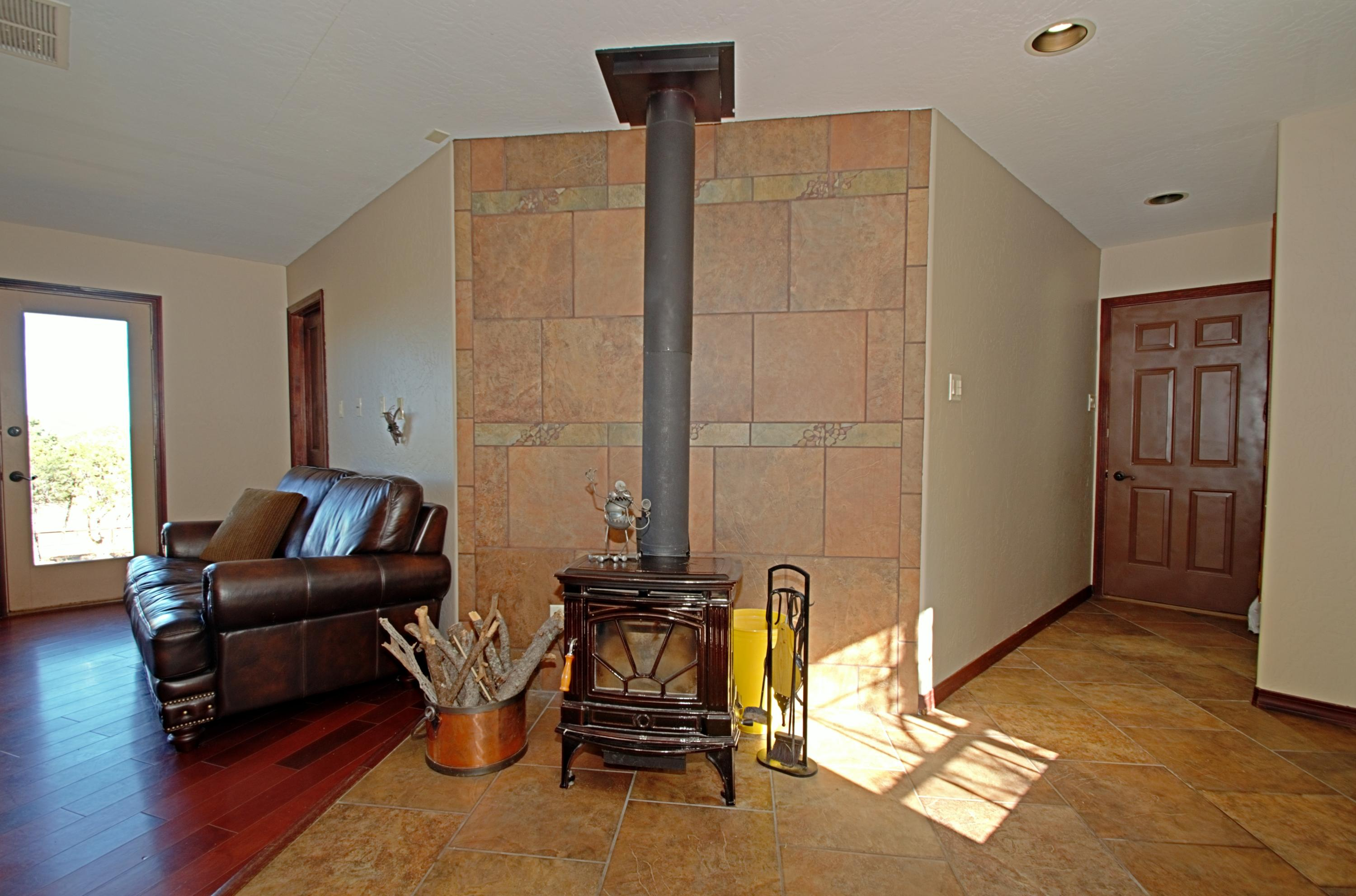 Wood Burning Stove-Kitchen