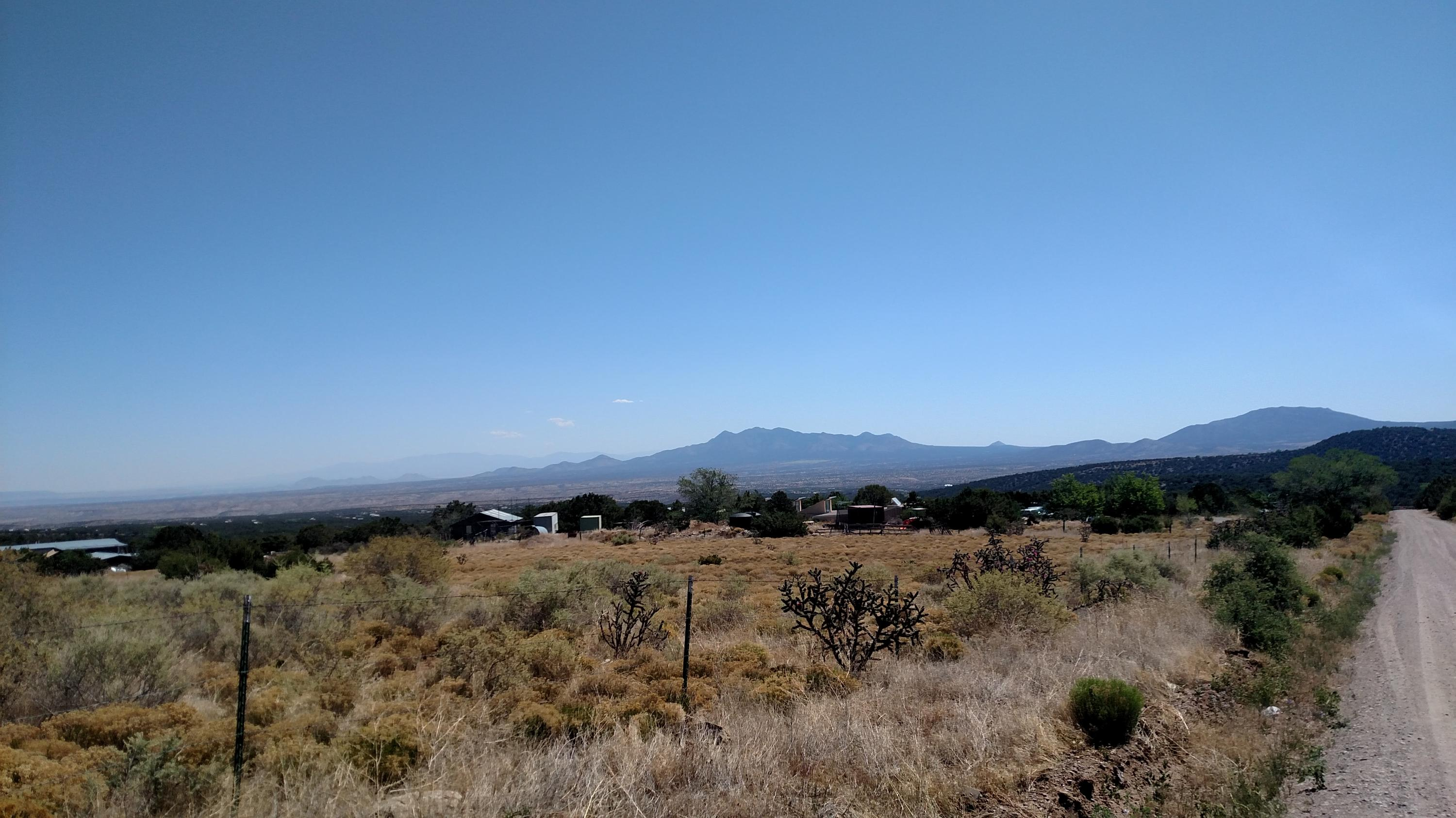 Looking Towards A from La Madera Rd