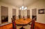 SPACIOUS FORMAL DINING ROOM