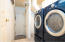Laundry Space Washer and Dryer can stay
