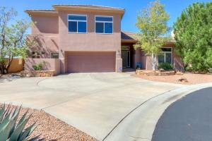 Generous driveway, beautiful, mature and low maintenance southwest landscaping.