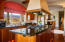 FABULOUS GOURMET KITCHEN WITH VIKING GAS RANGE
