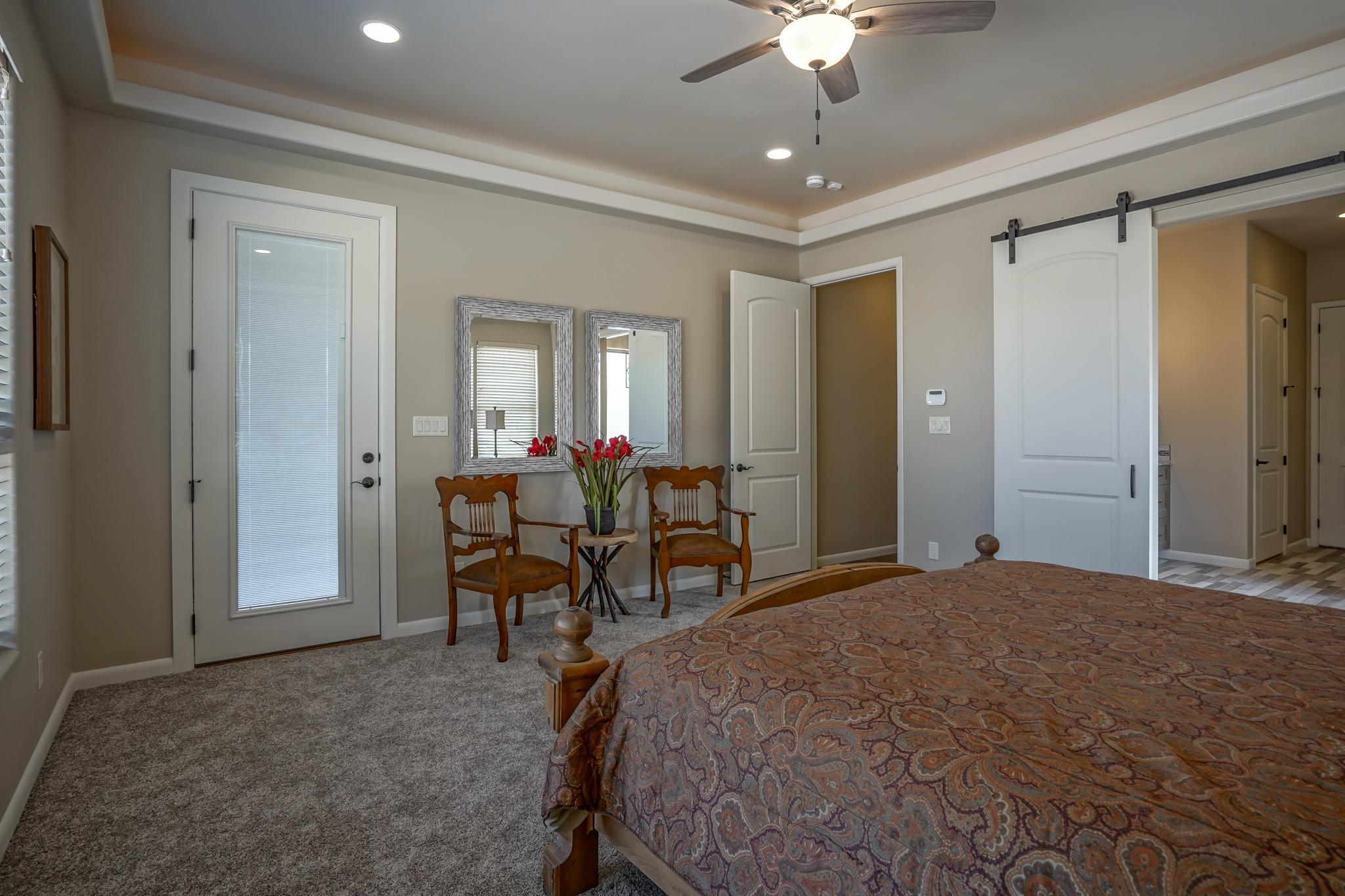 Master Bedroom with Spa-Like Bath