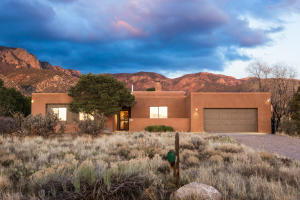 Stunning Sandia Height home with views from every room! Fresh paint inside and out.