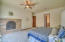 Master Bedroom Downstairs/Fireplace