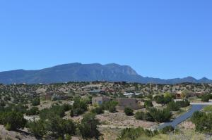Mountain view from lot.