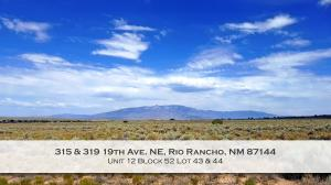 315 & 319 19th Avenue NE, Rio Rancho, NM 87144