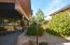 Backyard with ramp to patio