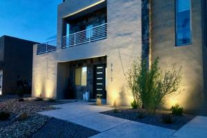 This Stunning Contemporary is ready for a new owner. In Ground Lighting...so beautiful!