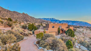 CUSTOM SANDIA HEIGHTS ESTATE ON PRIME VIEW LOT