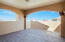 Large upstairs balcony with great views