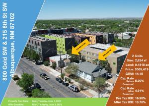 800 Gold & 215 8th Avenue SW, Albuquerque, NM 87102