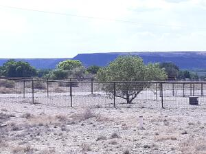 Looking West to the Mesas from the Property