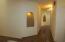 Hallway with Nichos