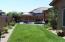 Long view of the backyard to Patio