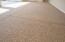 Finished 3 car garage floor