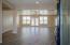 Grand entrance to open concept floor plan