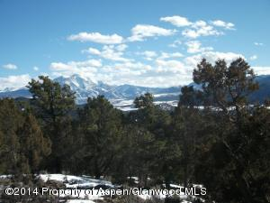 Sopris Views from lot