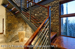 Mesquite and Stone stairwell