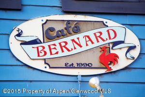 Cafe Bernard sign