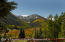 Stunning views of the Elk Mountains from the sunny deck