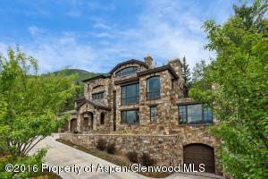 A magnificent stone edifice that sits front row on Red Mountain