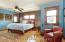 Master bedroom has walk in closet and private en-suite bath.